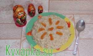 Овсяная каша с курагой – рецепт пошаговый с фото