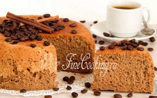 Кофейный бисквит с корицей – рецепт пошаговый с фото