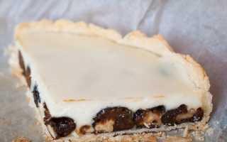 Пирог с черносливом и ванилином на скорую руку – рецепт пошаговый с фото