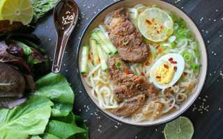 Корейский суп Сяу в домашних условиях – рецепт пошаговый с фото