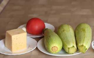 Кабачки с помидорами и сыром Сулугуни – рецепт пошаговый с фото