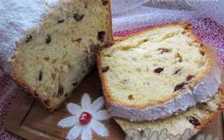 Сладкий хлеб к чаю с изюмом в хлебопечке – рецепт пошаговый с фото