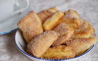Творожные печеньки с ванилином на скорую руку – рецепт пошаговый с фото