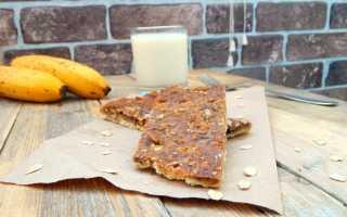 Овсяный пирог с бананом – рецепт пошаговый с фото