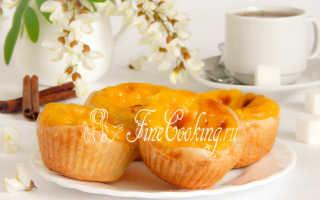 Португальское заварное пирожное Паштейш де Белем – рецепт пошаговый с фото