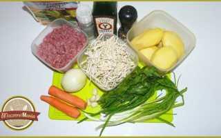 Суп с фрикадельками и домашней лапшой – рецепт пошаговый с фото