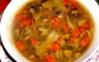 Суп с чечевицей и шампиньонами – рецепт пошаговый с фото