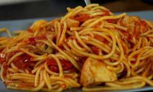 Макароны Баветте с курицей – рецепт пошаговый с фото
