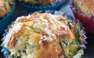 Кексы в горошек – рецепт пошаговый с фото