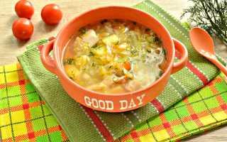 Суп с капустой и картошкой – рецепт пошаговый с фото