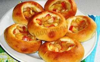 Ватрушки с яблоками – рецепт пошаговый с фото