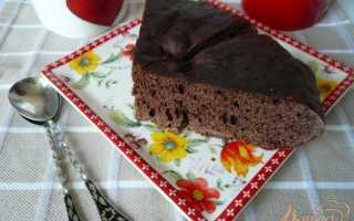 Кекс шоколадный на воде в мультиварке – рецепт пошаговый с фото