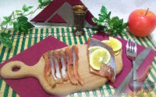 Горбуша малосольная – рецепт пошаговый с фото