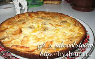 Пирог с бананом и апельсиновой цедрой – рецепт пошаговый с фото