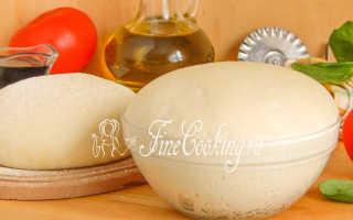 Тесто для пиццы на воде в хлебопечке – рецепт пошаговый с фото