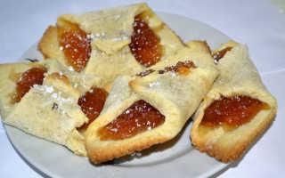 Слойки с джемом в духовке – рецепт пошаговый с фото