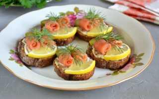 Бутерброды с красной рыбой и огурцом на электрогриле – рецепт пошаговый с фото