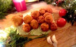 Яичные шарики с курицей – рецепт пошаговый с фото