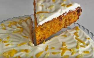 Морковный пирог по-чешски – рецепт пошаговый с фото