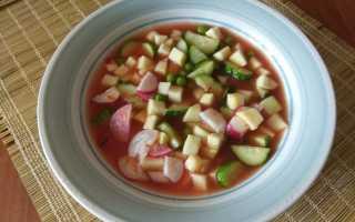 Томатный суп с желудочками и овощами – рецепт пошаговый с фото