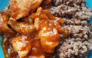 Постная гречка с томатной пастой и соевым соусом – рецепт пошаговый с фото