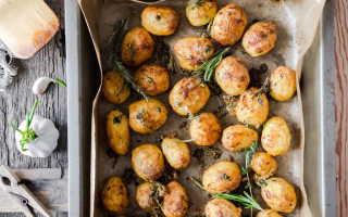 Хрустящая запеченная картошка – рецепт пошаговый с фото