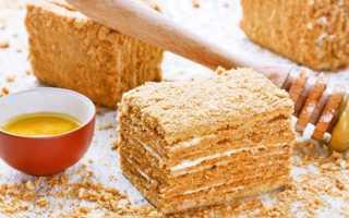 Торт Медовик классический – рецепт пошаговый с фото