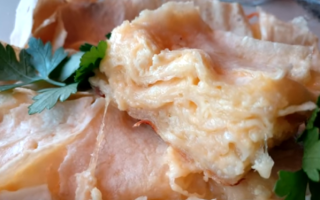 Ачма с моцареллой и сулугуни – рецепт пошаговый с фото