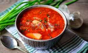 Быстрый борщ из готового бульона без мяса – рецепт пошаговый с фото