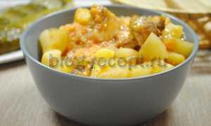Курица с картошкой просто и вкусно – рецепт пошаговый с фото