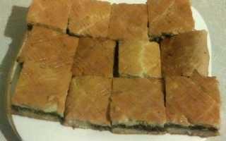 Мясной пирог Символ года – рецепт пошаговый с фото