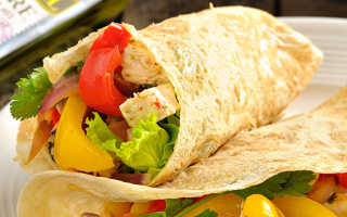 Мексиканский фахитос с курицей – рецепт пошаговый с фото