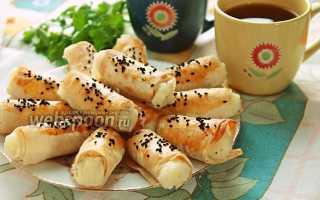 Трубочки из лаваша с картофелем – рецепт пошаговый с фото