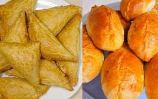 Домашние пирожки с капустой в духовке – рецепт пошаговый с фото