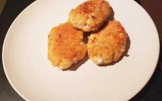 Сладкие овсяные котлеты в панировочных сухарях – рецепт пошаговый с фото