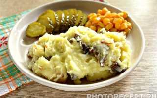 Картофельное пюре с зажаркой – рецепт пошаговый с фото