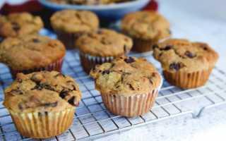 Шоколадные кексы с орехами – рецепт пошаговый с фото
