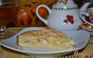 Пирожки из песочного теста с яблоками и корицей в духовке – рецепт пошаговый с фото