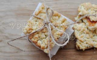 Тертый пирог с джемом – рецепт пошаговый с фото