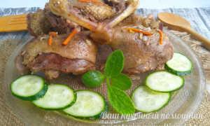 Гуляш из домашнего гуся в мультиварке – рецепт пошаговый с фото