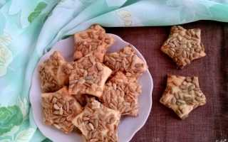 Печенье с семечками и изюмом – рецепт пошаговый с фото