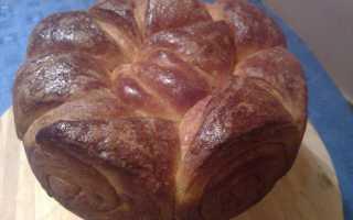 Сдобный хлеб Погача – рецепт пошаговый с фото