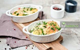Порционный омлет с укропом в духовке – рецепт пошаговый с фото