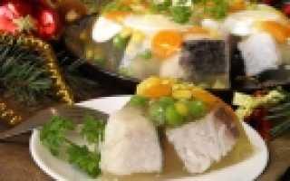 Праздничное заливное – рецепт пошаговый с фото