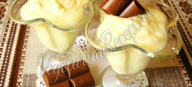 Лимонный мусс – рецепт пошаговый с фото
