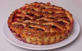 Пирог с ягодами – рецепт пошаговый с фото