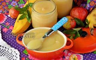 Пюре из инжира и банана на зиму – рецепт пошаговый с фото