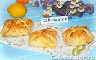 Печенье из слоеного теста с творогом и абрикосом – рецепт пошаговый с фото