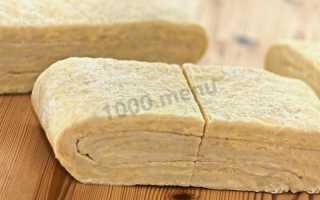 Слоёное тесто на пиве – рецепт пошаговый с фото