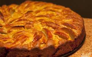 Морковно-яблочный пирог с орехами – рецепт пошаговый с фото